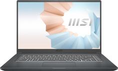 Ноутбук MSI Modern 15 A11SBL-463RU (серый)