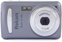 Цифровой фотоаппарат Rekam iLook S740i (темно-серый)