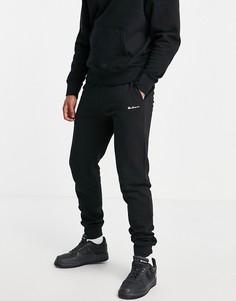 Спортивные джоггеры с поясом в рубчик Ben Sherman-Черный