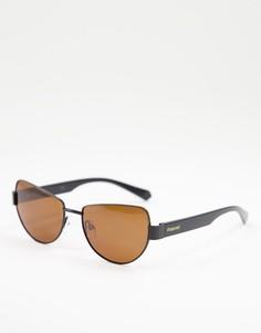 Солнцезащитные очки-авиаторы Polaroid-Коричневый цвет