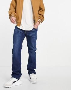 Синие выбеленные джинсы прямого кроя Diesel D-Mihtry-Голубой