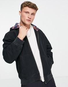 Черная куртка с капюшоном Levis Grove-Черный цвет