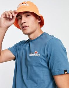 Синяя футболка ellesse Voodoo-Голубой