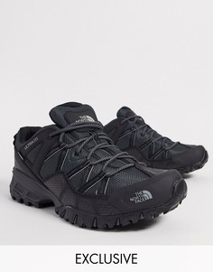 Черно-серые кроссовки The North Face Ultra 111-Черный