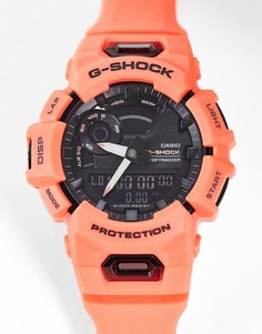 Розовые часы в стиле унисекс с трекером Casio G Shock GBA-901-Розовый цвет