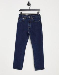 Укороченные джинсы цвета индиго Levis 501-Голубой