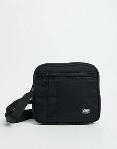 Черная сумка на плечо Vans-Черный цвет