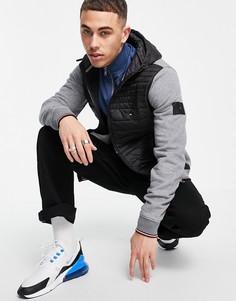 Куртка с капюшоном Tommy Hilfiger-Серый