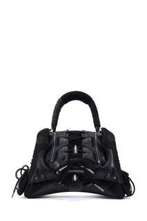 Черная сумка SneakerHead Medium Balenciaga