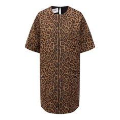 Платье из шерсти и хлопка Valentino