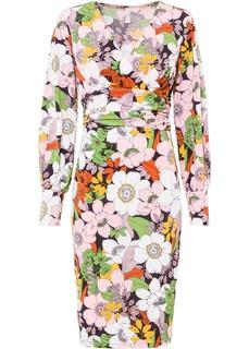 Платье с цветочным принтом Bonprix