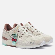 Мужские кроссовки ASICS x Nice Kicks Gel-Lyte III OG, цвет бежевый, размер 40 EU