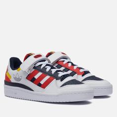 Кроссовки adidas Originals Forum Low, цвет белый, размер 43.5 EU
