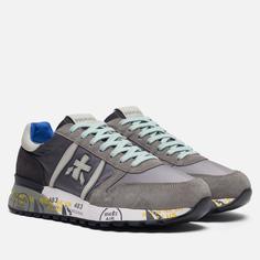 Мужские кроссовки Premiata Lander 4586, цвет серый, размер 45 EU