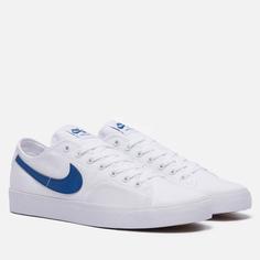 Мужские кроссовки Nike SB BLZR Court, цвет белый, размер 43 EU