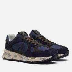Мужские кроссовки Premiata Mase 5398, цвет синий, размер 46 EU