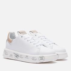 Женские кроссовки Premiata Belle 5380, цвет белый, размер 41 EU
