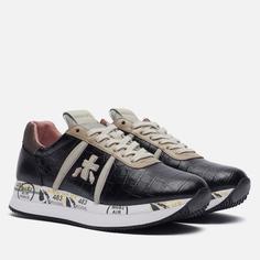 Женские кроссовки Premiata Conny 5327, цвет чёрный, размер 40 EU