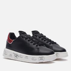Женские кроссовки Premiata Belle 5381, цвет чёрный, размер 40 EU