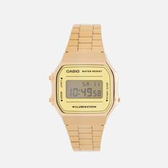 Наручные часы CASIO Collection A-168WEGM-9E, цвет золотой