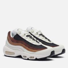 Мужские кроссовки Nike Air Max 95 Dark Driftwood, цвет коричневый, размер 41 EU