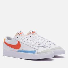 Женские кроссовки Nike Blazer Low 77, цвет белый, размер 38.5 EU