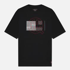 Мужская футболка Jordan Event 1985 Quai 54, цвет чёрный, размер S