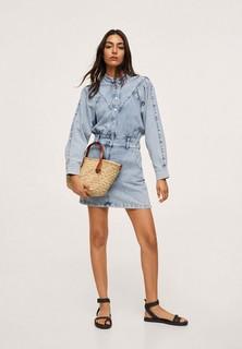 Платье джинсовое Mango LOLA