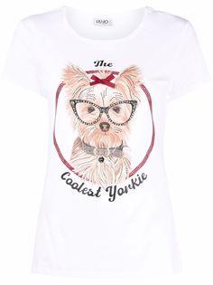 LIU JO футболка The Coolest Yorkie