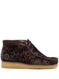 Clarks Originals ботинки с цветочным принтом