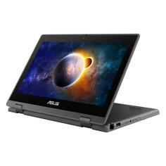 "Ноутбук-трансформер ASUS Pro BR1100FKA-BP0355R, 11.6"", Intel Pentium Silver N6000 1.1ГГц, 4ГБ, 128ГБ eMMC, Windows 10 Professional, 90NX03A1-M06410, темно-серый"