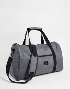 Спортивная серая сумка Ben Sherman-Серый