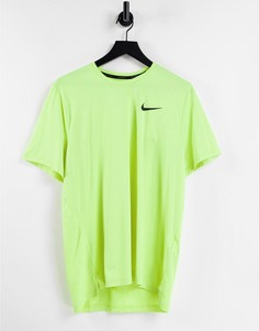 Желтая футболка Nike Pro Training Hyperdry-Желтый