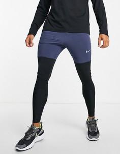 Темно-синие гибридные джоггеры Nike Running Run Division Statement-Темно-синий