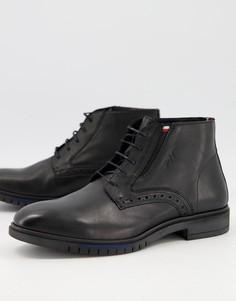 Черные броги Tommy Hilfiger Advance-Черный цвет