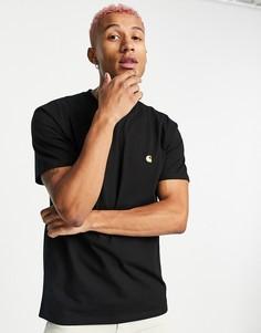 Черная футболка Carhartt WIP-Черный цвет