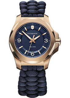 Швейцарские наручные женские часы Victorinox Swiss Army 241955. Коллекция I.N.O.X. V