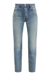 Темно-голубые джинсы Balenciaga