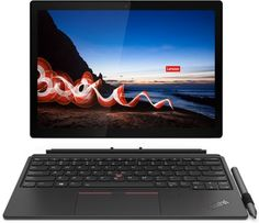 "Ноутбук Lenovo ThinkPad X12 Detachable G1 20UW0008RT i5-1130G7/8GB/12.3"" Full HD/512GB SSD/Intel Iris Xe Graphics/Win10Pro/черный"