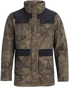Куртка Burton 19-20 M Falldrop Jk Worn Camo-XL