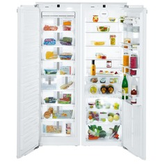 Встраиваемый холодильник Liebherr SBS 70I4 (SIGN 3576+IKB 3560)