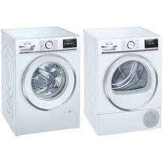Комплект стиральной и сушильной машины Siemens WM16XFH1OE + WT47XEH1OE