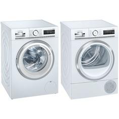 Комплект стиральной и сушильной машины Siemens WM14G0H1OE + WT47XKH1OE