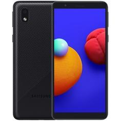 Смартфон Samsung Galaxy A01 Core 16 ГБ чёрный