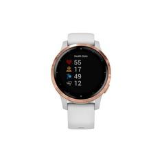 Смарт-часы Garmin Vivoactive 4S белые с золотистым безелем 010-02172-23