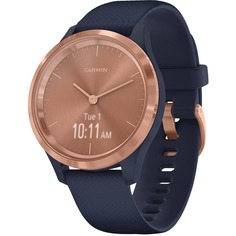Смарт-часы Garmin Vivomove 3S Gold/Dark Blue (010-02238-23)