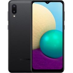 Смартфон Samsung Galaxy A02 32 ГБ чёрный