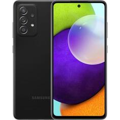 Смартфон Samsung Galaxy A52 128 ГБ чёрный