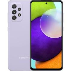Смартфон Samsung Galaxy A52 128 ГБ фиолетовый