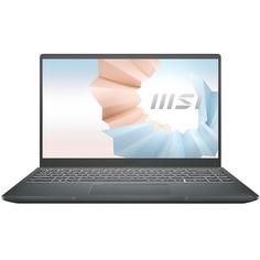 Ноутбук MSI Modern B11MO-063RU серый (9S7-14D314-063)